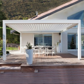 Bioclimatic Modern Aluminum Pergola Kits With Adjustable Louver