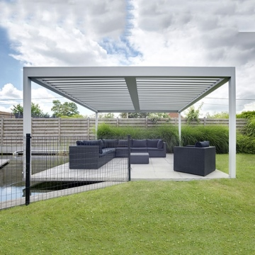 Modern design waterproof aluminium garden pergolas and gazebos outdoor