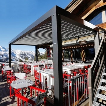 Shade rainproof aluminum profile awnings lowes