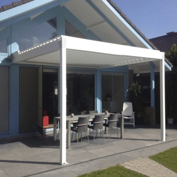 Car Parking Shelters Modern Design Powder Coated Aluminium Double Carport With polycarbonate Sheet