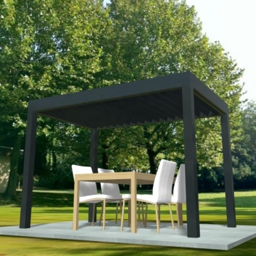 Aluminum pergola awning Customized service Safe and reliable