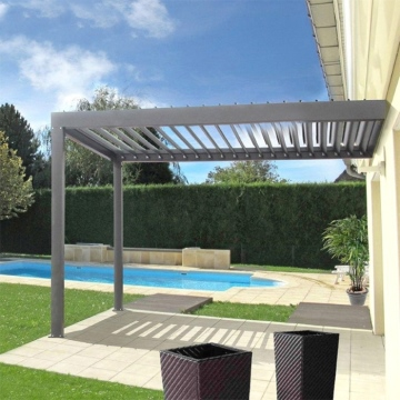 Hot Sale Aluminium Sun Shading Motorized Louver Roof Pergola