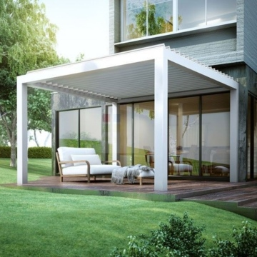 aluminium pergola outdoor bioclimatic luxury furniture