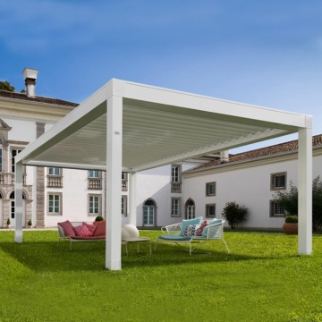 Motorized Waterproof Retractable Awnings For Outdoor Gazebo