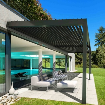 Bioclimatic Motorized Adjustable Aluminum Pergola