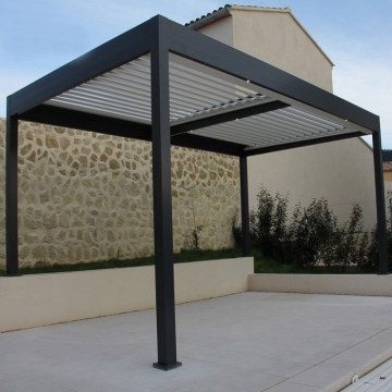 Modern parts square tube aluminum profile for pergola
