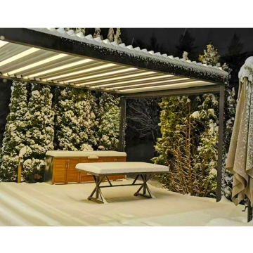 Modern Outdoor Aluminum Opening and Closing Patio Roof Pergola