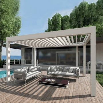 Motorized Waterproof Aluminium Pergola