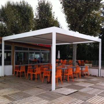 Aluminium Plocarbonated Carport for shading
