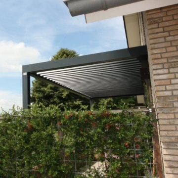 Shanghai mywindow Motorized Balcony Roof Garden Pergola Design