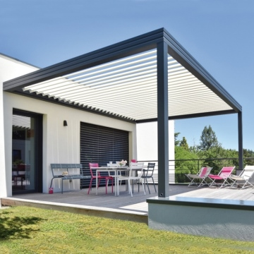 European style Aluminum pergola outdoor with good price
