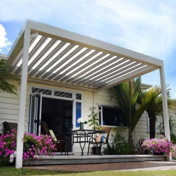 Modern style balcony prefab aluminum lowes sunroom with glass sliding sunroom